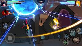 screenshot of Stickman Warriors - Super Dragon Shadow Fight