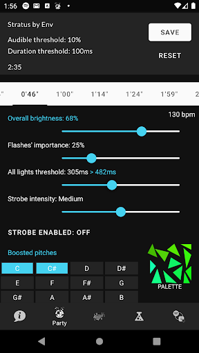 Prismify - perfect sync for Philips Hue & Spotify screenshot 5