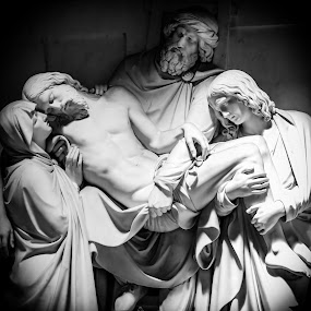 It is finished by Ronald Rivas - Black & White Objects & Still Life ( catholic, rome, jesus, vatican )