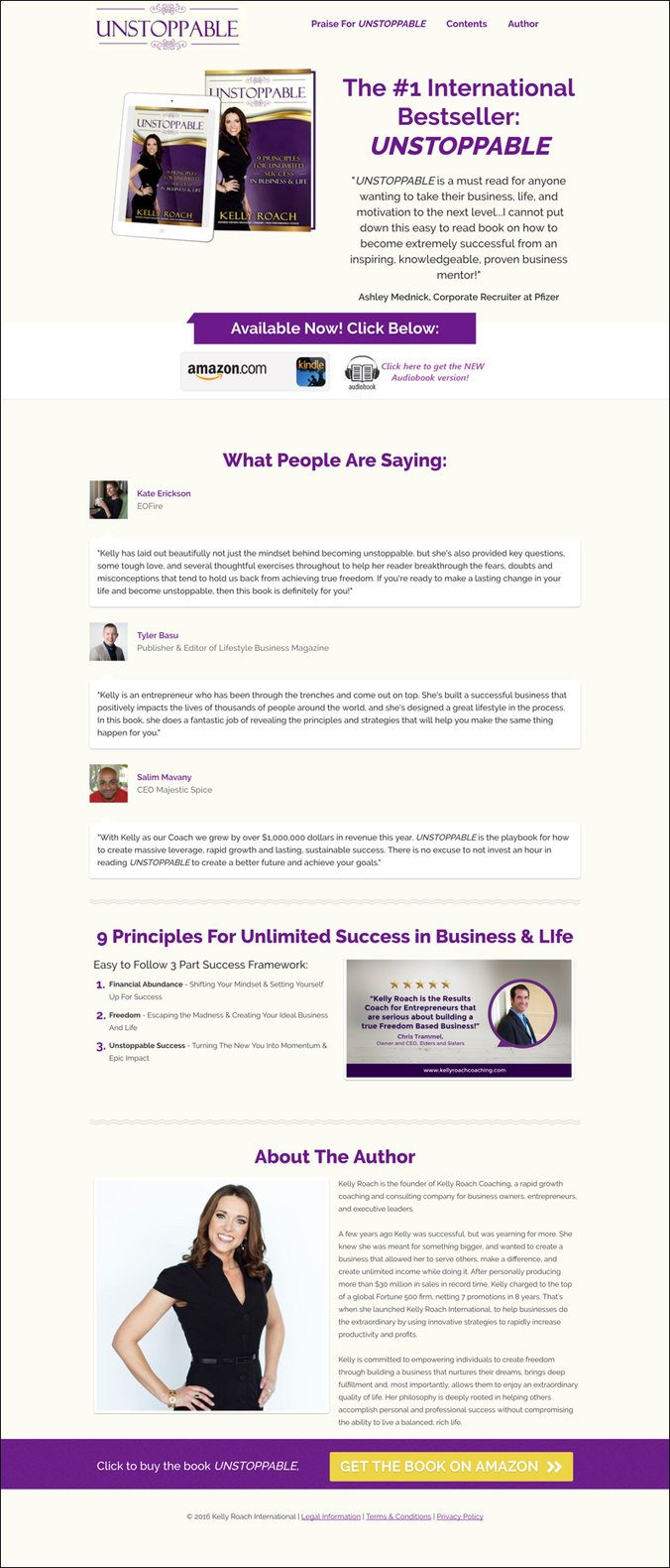 Landing Page Roundup: Our Top 10 Favorite Pages from April
