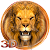 3D golden king lion theme file APK Free for PC, smart TV Download