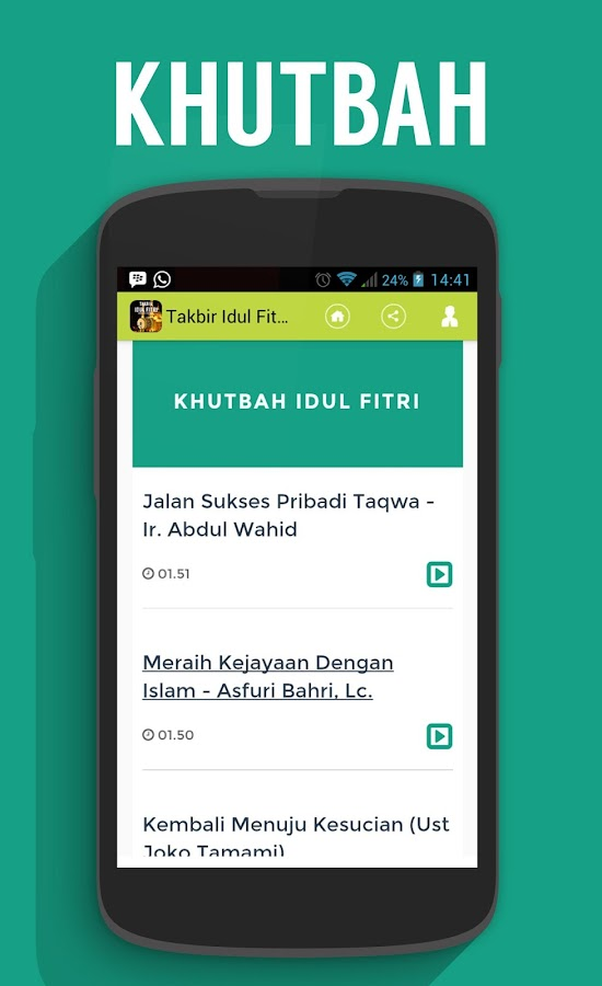 Takbir Idul Fitri 2015 - Android Apps on Google Play