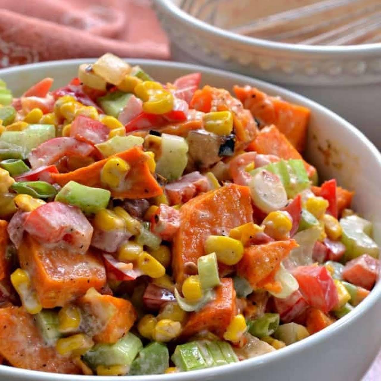 Sweet Potato Salad Recipes Hawaiian