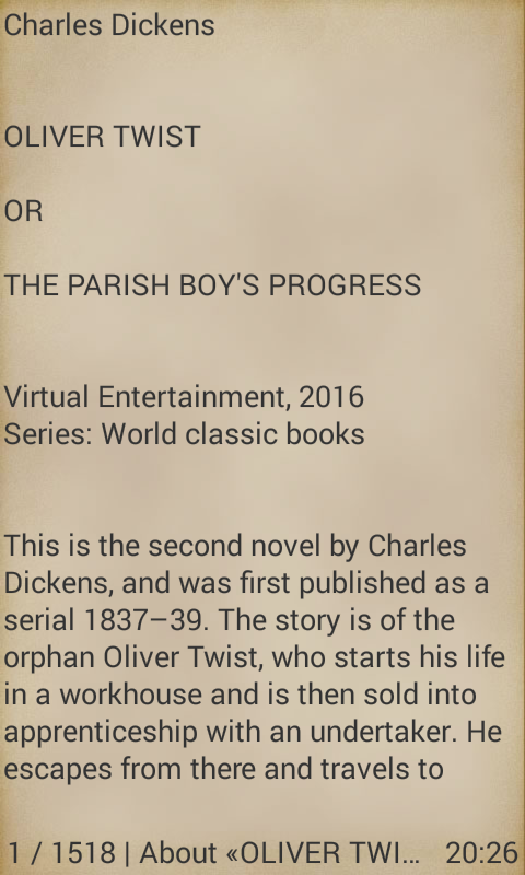 oliver twist by dickens android apps on google play oliver twist by dickens screenshot