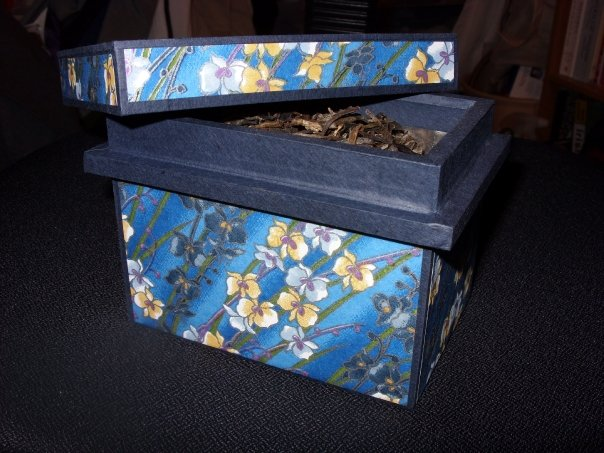 Photo: Washi Box. They are purportedly for tea storage but I bought it because it's pretty :). Purchased from Cha Ma Gu Dao, a shop in Montclair, NJ that has since closed.