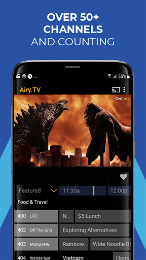 Airy - Stream Free TV Shows & Movies, and More! 2.4.0gcR screenshots 3