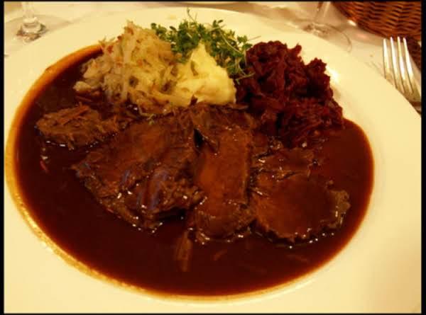 Jodie's German Sauerbraten