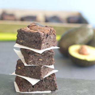 Dark Chocolate Avocado Brownies.