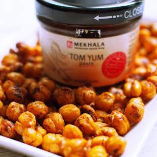 Crunchy Tom Yum Chickpeas.