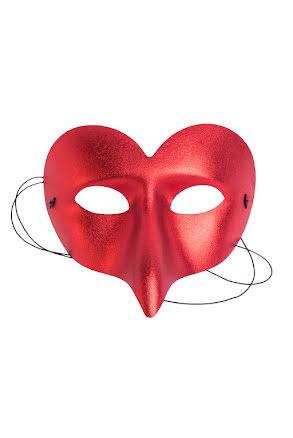 Ögonmask, ronnie röd