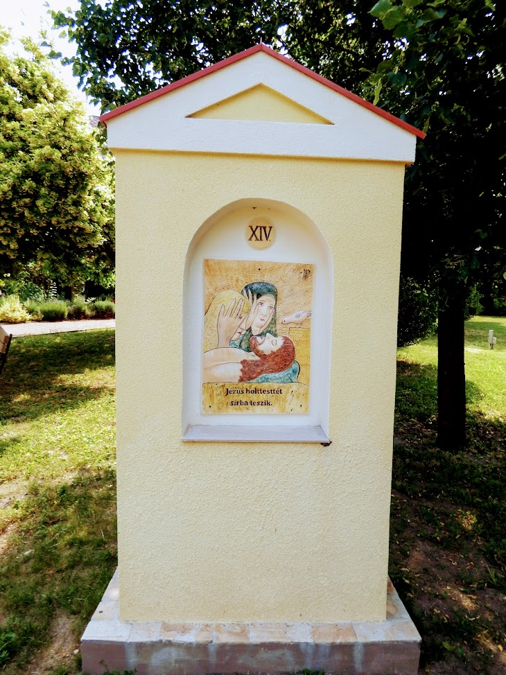 Siófok - Balatonkiliti Szent Kiliit rk. templom és keresztút a templomkertben