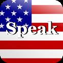 Speak American Free icon