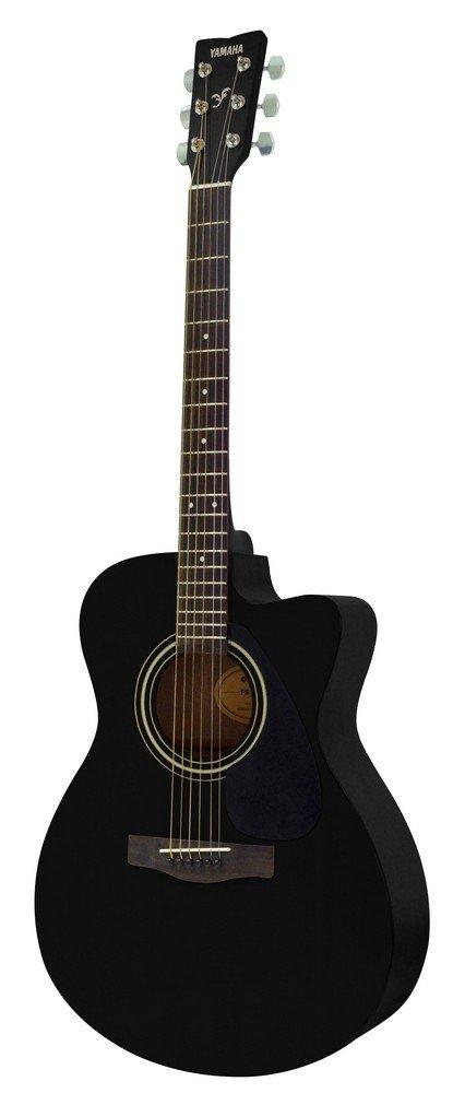 Yamaha FS-100C, Black 6-String Acoustic Steel Guitar