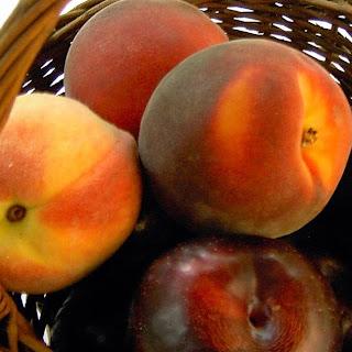 Peach & Plum Crumble