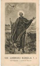 Photo: Obrazek o wym. 6.5 x 11 cm. (oliwkowy) Na odwrocie modlitwa do Świętego. WAM Kraków Pieczątka: Kazimierz Steczek