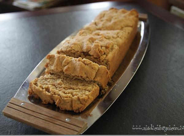 Old Fashioned Peanut Butter Bread Recipe