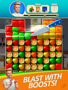 Gordon Ramsay: Chef Blast Mod Apk (Unlimited Lives and Moves) 9