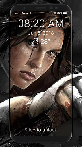Tomb Raider HD Wallpapers Lock Screen 1.0 screenshots 1
