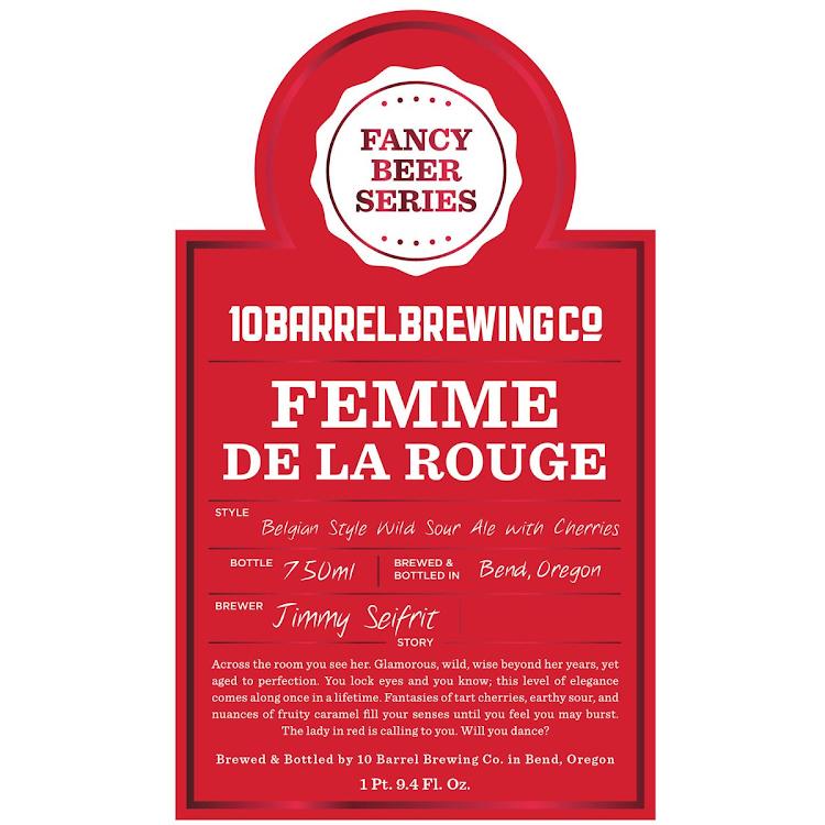 Logo of 10 Barrel Femme De La Rouge