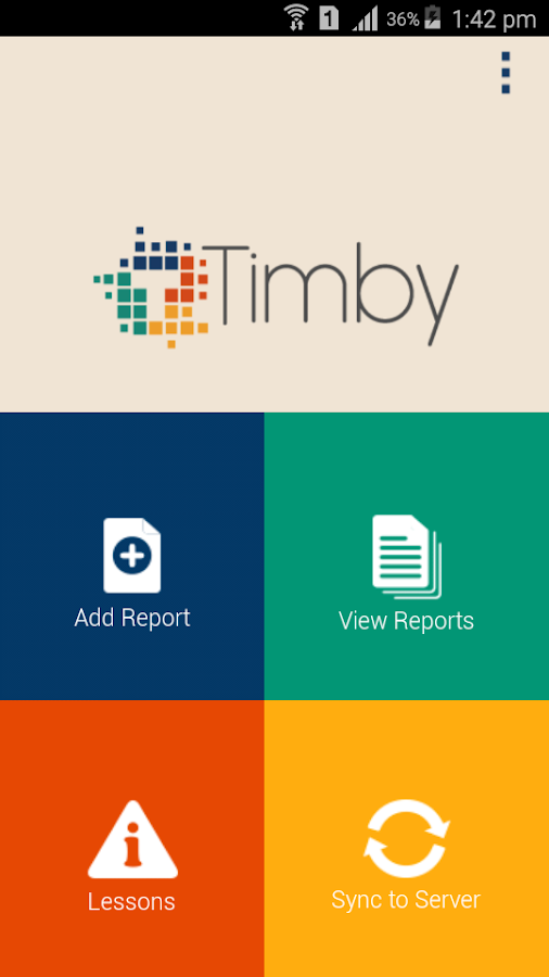 TIMBY- screenshot