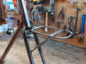 Photo: A better shot of the rack, ready for chroming.