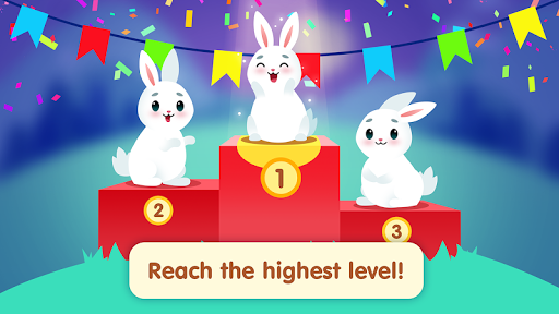 Bunny Connect: Match Colours, Numbers & Bubbles screenshot 6