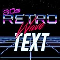 Retrowave Text Generator 🌴 (Retrowave Style Text) icon