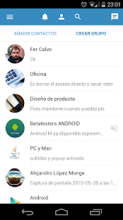 IMBox.me - Work messaging: miniatura de captura de pantalla