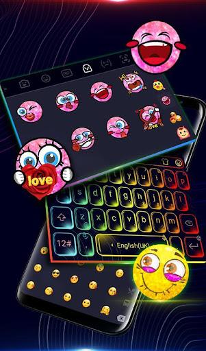Flash Lights Keyboard Theme for PC / Windows 7, 8, 10 / MAC Free
