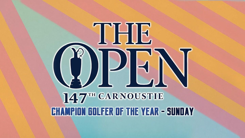 Watch Champion Golfer of the Year - Sunday live