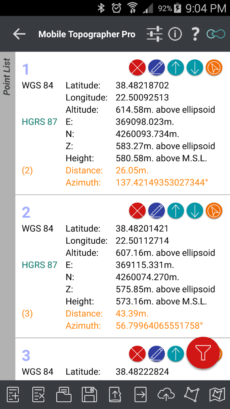 Mobile Topographer Pro Screenshot 5