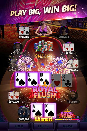 Mega Hit Poker: Texas Holdem massive tournament screenshots 2