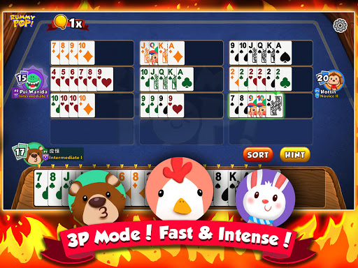 Rummy Pop! The newest, most exciting Rummy Mahjong 1.1.56 screenshots 3
