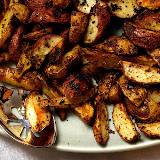 Garlic Mustard Roasted Potatoes Recipes