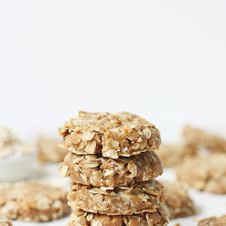 Healthy No Bake Peanut Butter Oatmeal Protein Cookies Recipe