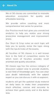 5G Classes 4