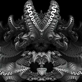 MB3D - 734 by Siniša Dalenjak - Illustration Abstract & Patterns ( mandelbulb, 3d, fractal )