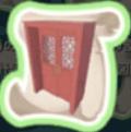 春節のドアの設計図