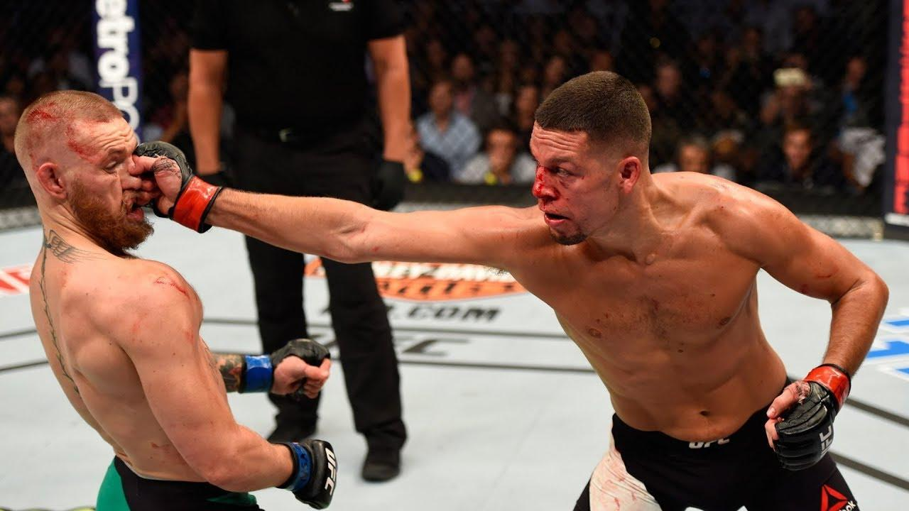 Image result for nate diaz punching