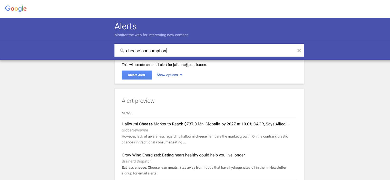 screenshot-google-alerts-cheese-consumption