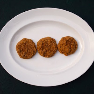 Ginger Spiced Bean Cookies.