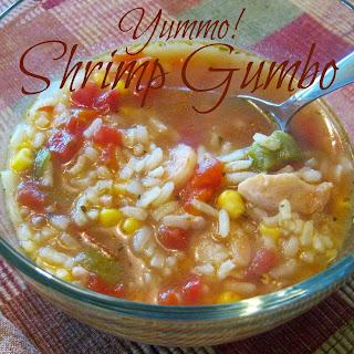 Easy Homemade Shrimp Gumbo