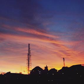 Sunset by Silvester Bingar - Landscapes Sunsets & Sunrises