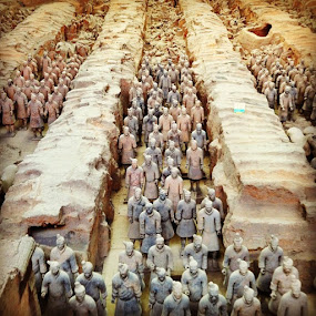 Terracotta Army by Conor MacNeill - Instagram & Mobile Instagram