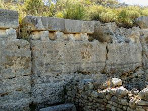 Photo: Byllis, Storage along the Forum