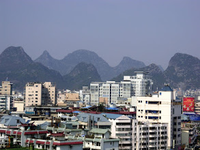 Photo: View of Guilin from Elelphant Hill