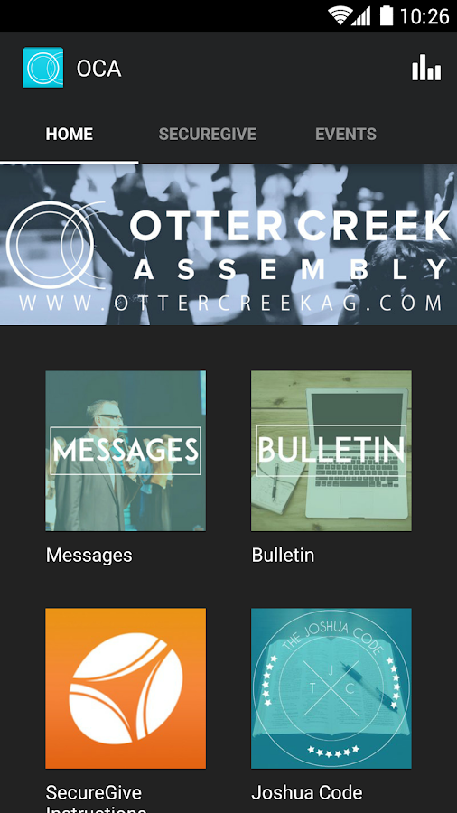 Otter Creek Assembly- screenshot