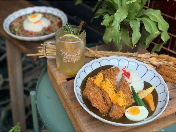 巷弄裡的美食/超濃郁咖哩好好吃/Come Com 咖哩&三明治食べ物