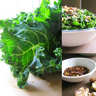 Kale Salad With Chilli, Garlic And Parmesan