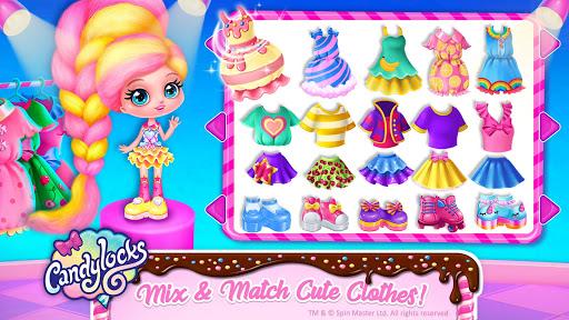 Candylocks Hair Salon - Style Cotton Candy Hair  Wallpaper 1